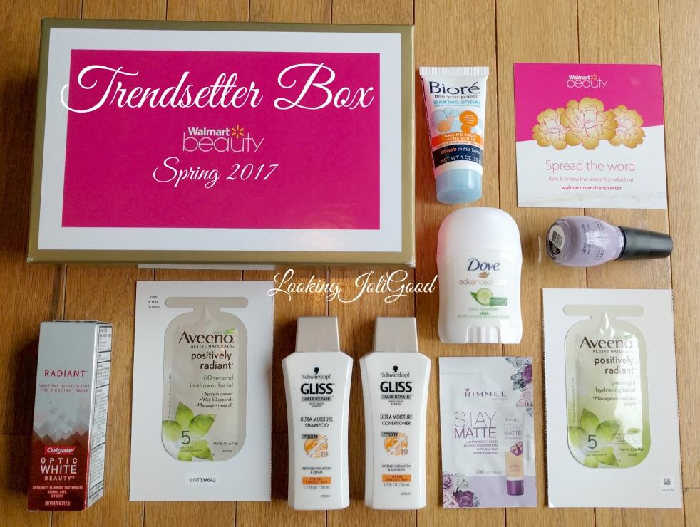 trendsetter Walmart Beauty Box Trendsetter Box Spring 2017 | lookingjoligood.blog