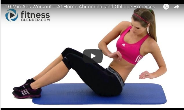 ab workout | lookingjoligood.blog