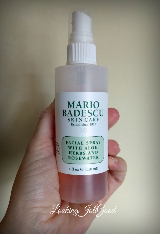 Mario Badescu facial spray | lookingjoligood.blog