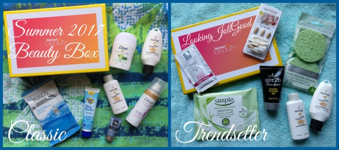 summer 2017 walmart beauty box | lookingjoligood.blog