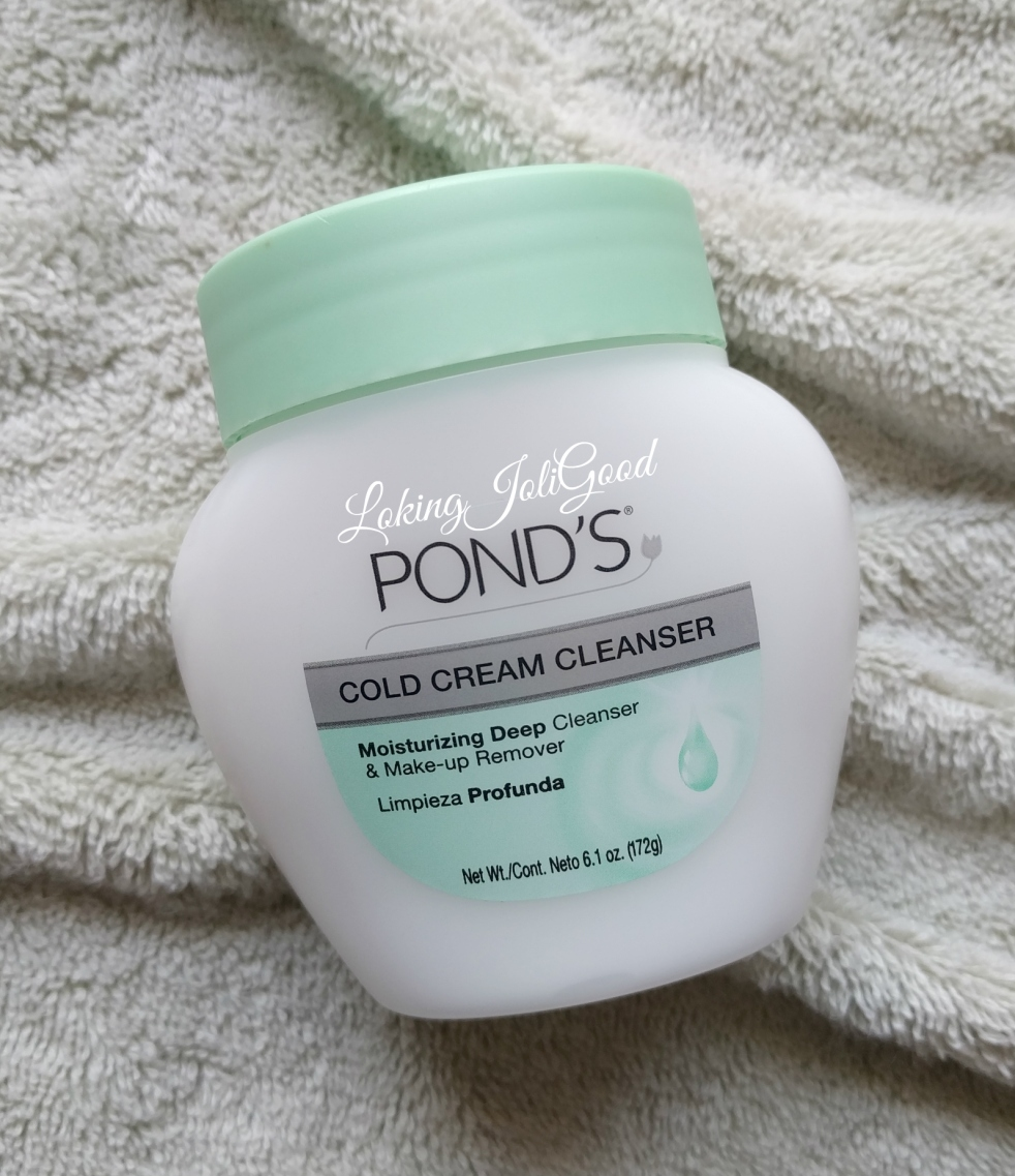 pond's cold cream cleanser | lookingjoligood.blog