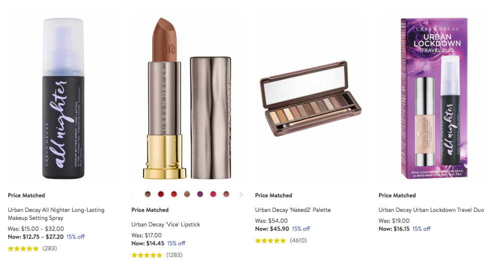 Nordstrom Urban decay sale | lookingjoligood.blog
