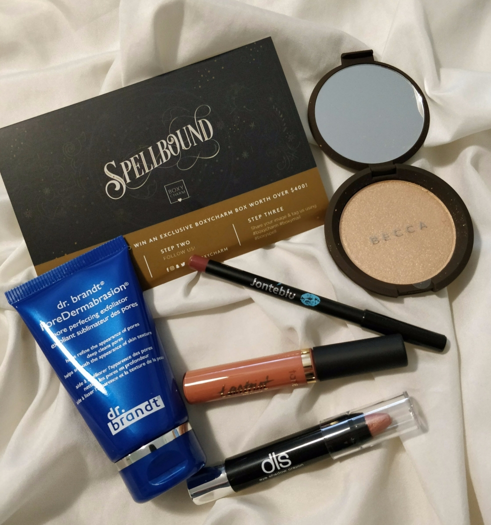 Boxy Charm October 2017 Spellbound | lookingjoligood.blog