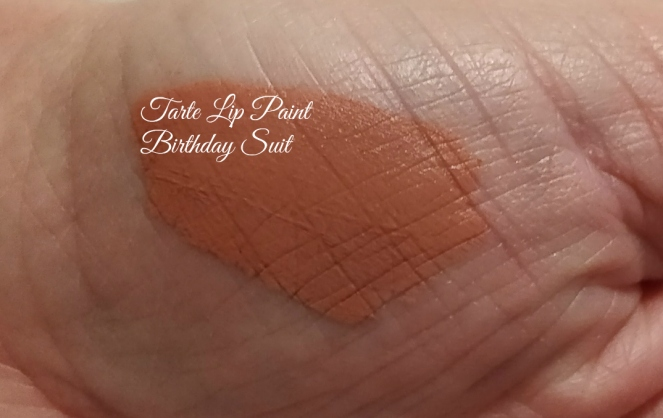 tarte lip paint birthday suit Boxy Charm October 2017 Spellbound | lookingjoligood.blog