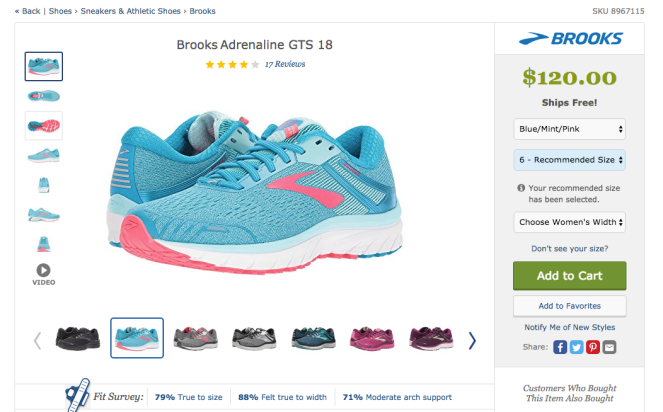 Brooks GTS 18 | lookingjoligood.blog