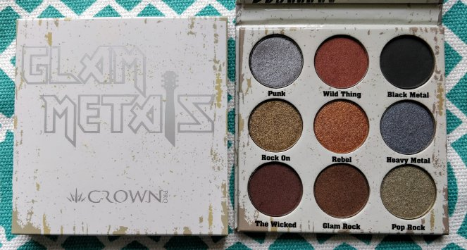 iCrown Pro - Glam Metals Palette | lookingjoligood.blog