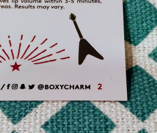 Boxycharm January 2018 | lookingjoligood.blog