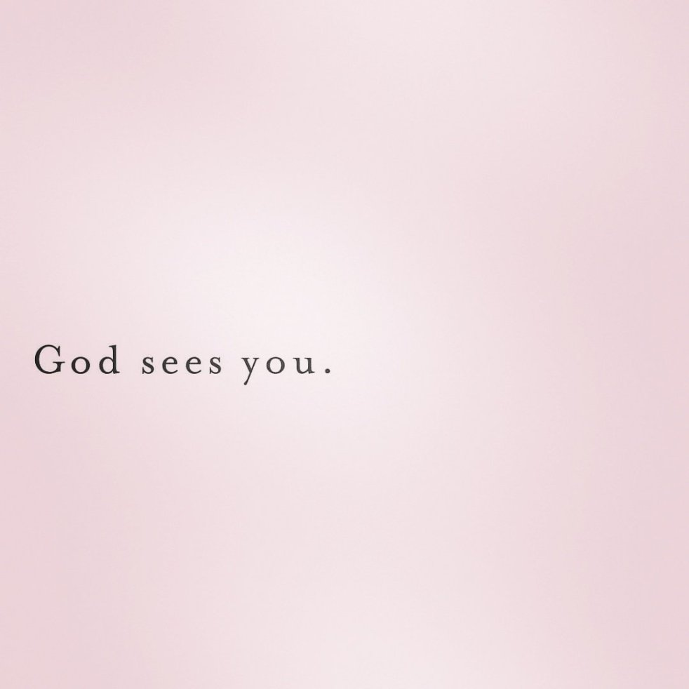 God Sees You | lookingjoligood.blog