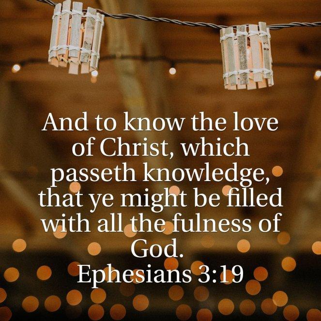 Ephesians 3:19 | lookingjoligood.blog