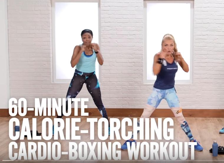 60 minute cardio kickboxing | lookingjoligood.blog
