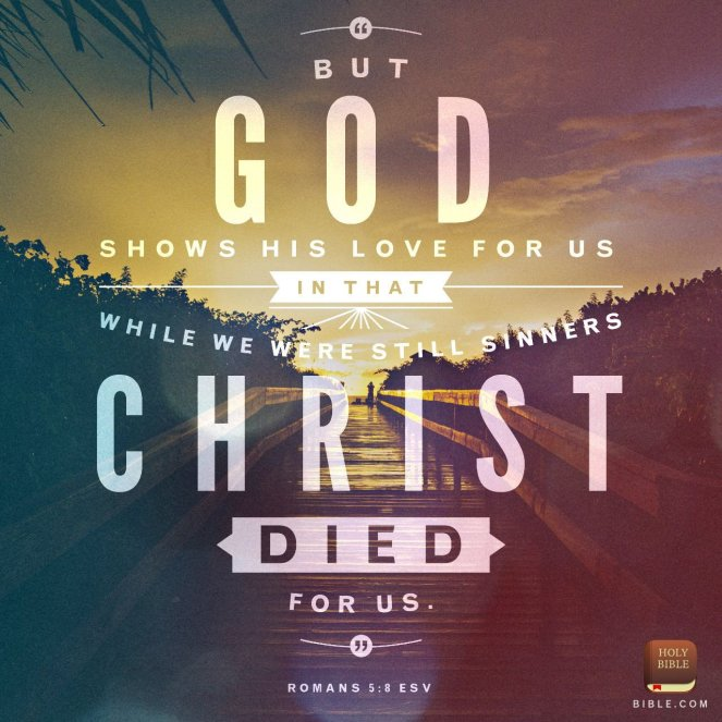 Christ died for us | lookingjoligood.blog