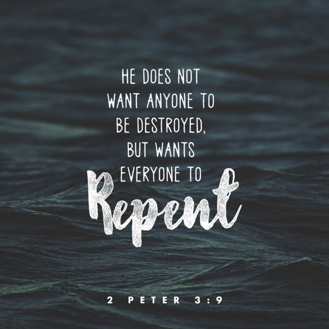 2 Peter 3:9 | lookingjoligood.blog