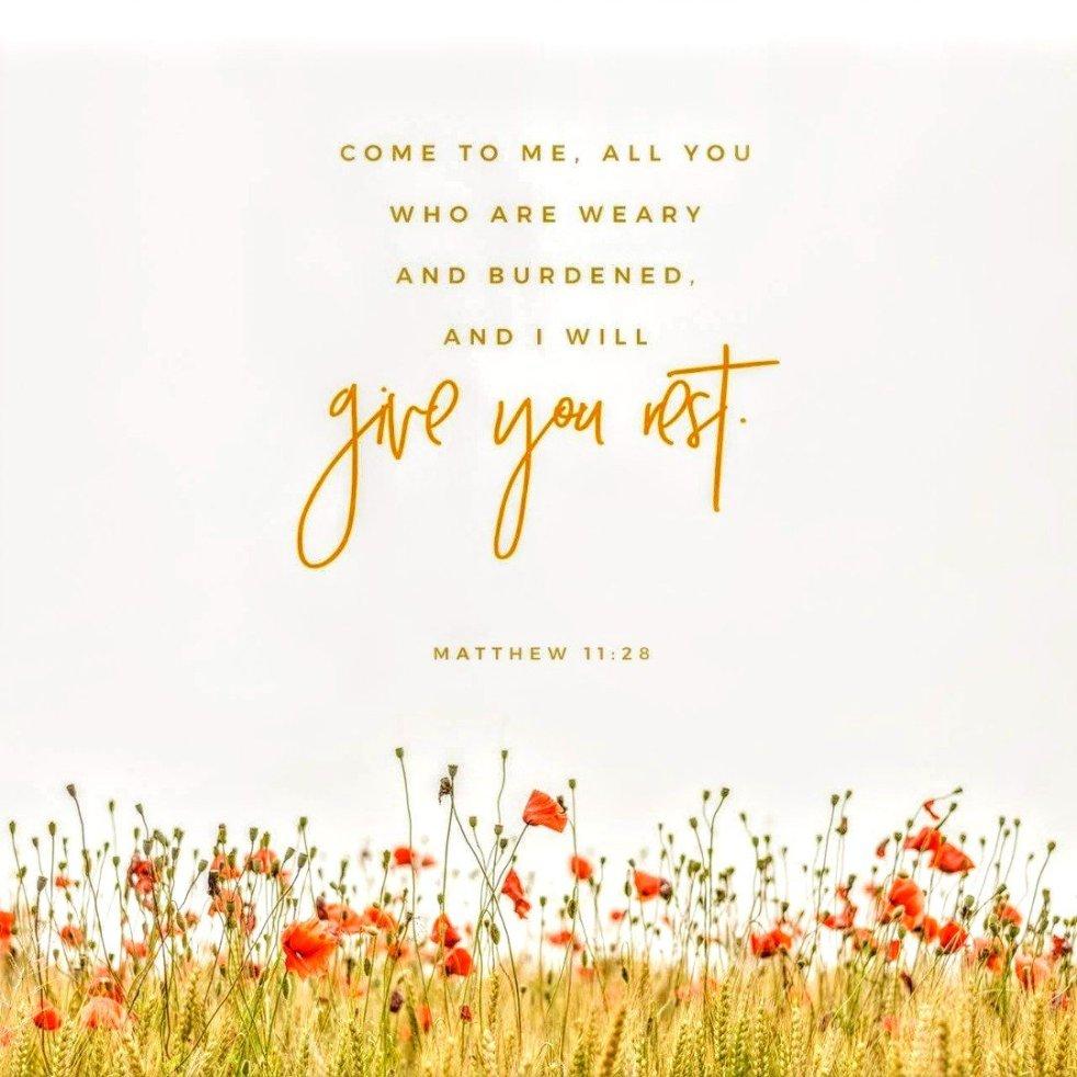 Matthew 11:28 | lookingjoligood