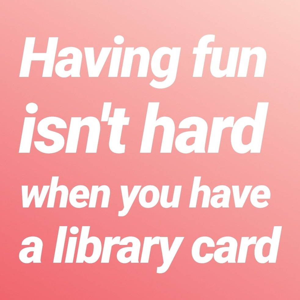 library card | lookingjoligood.blog