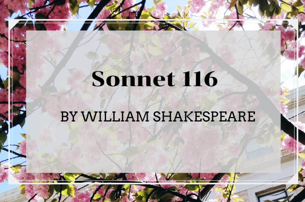 Sonnet 116 | lookingjoligood.blog