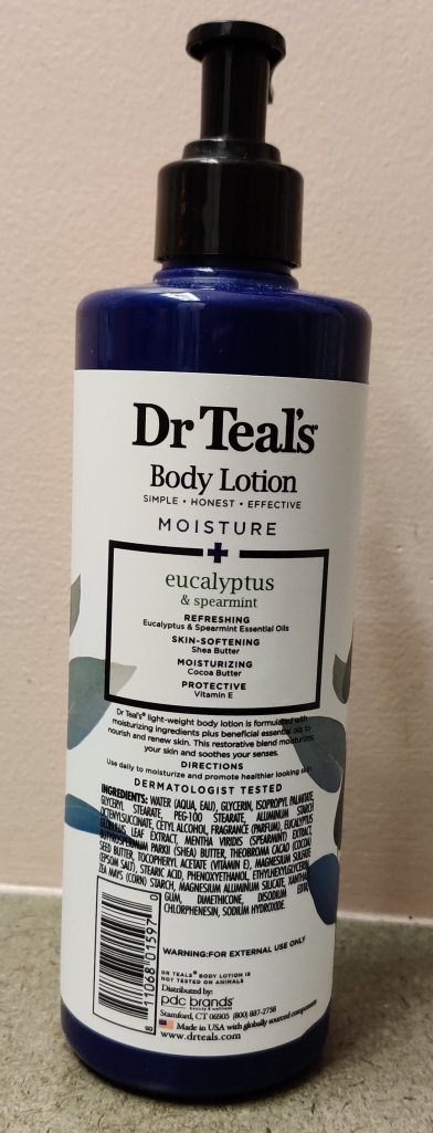 Dr Teal's Body Lotion | lookingjoligood.blog