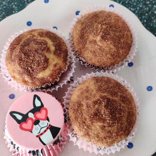 Cinnamon Topped Brown Sugar Muffins | lookingjoligood.blog