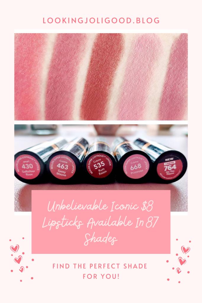 Revlon Super Lustrous Lipstick | lookingjoligood.blog