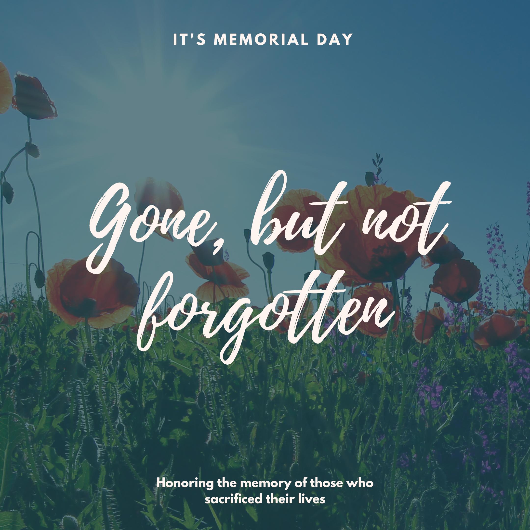 Memorial day | lookingjoligood.blog